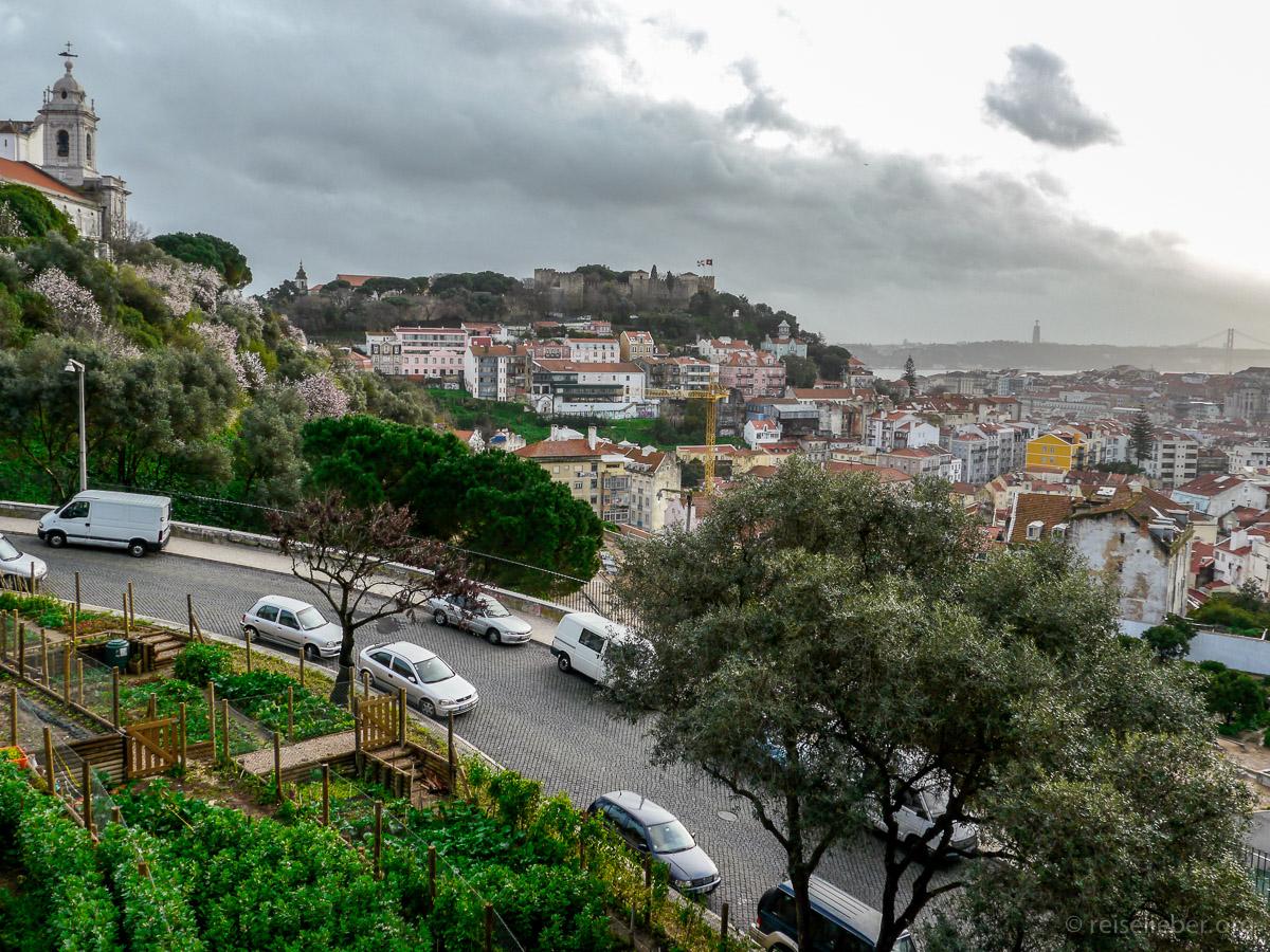 Städtereise Lissabon, immer gute Aussichten