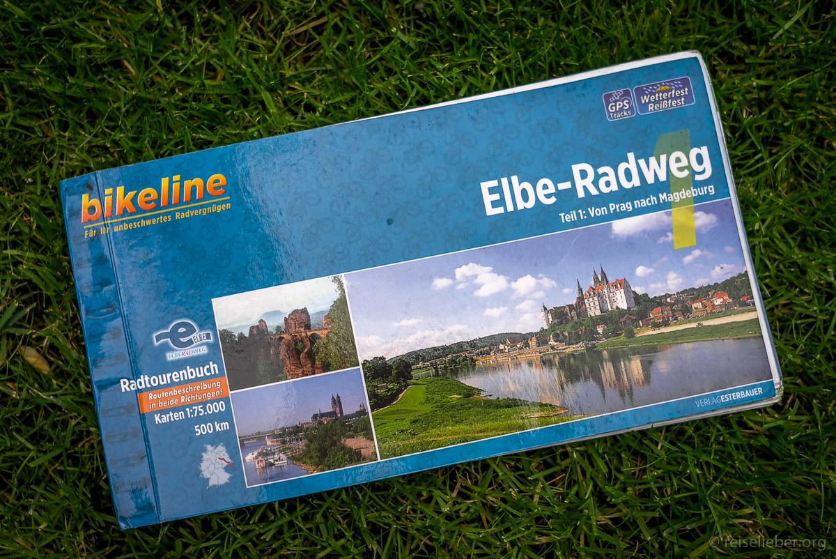 Elbe-Radweg-Führer von Bikeline