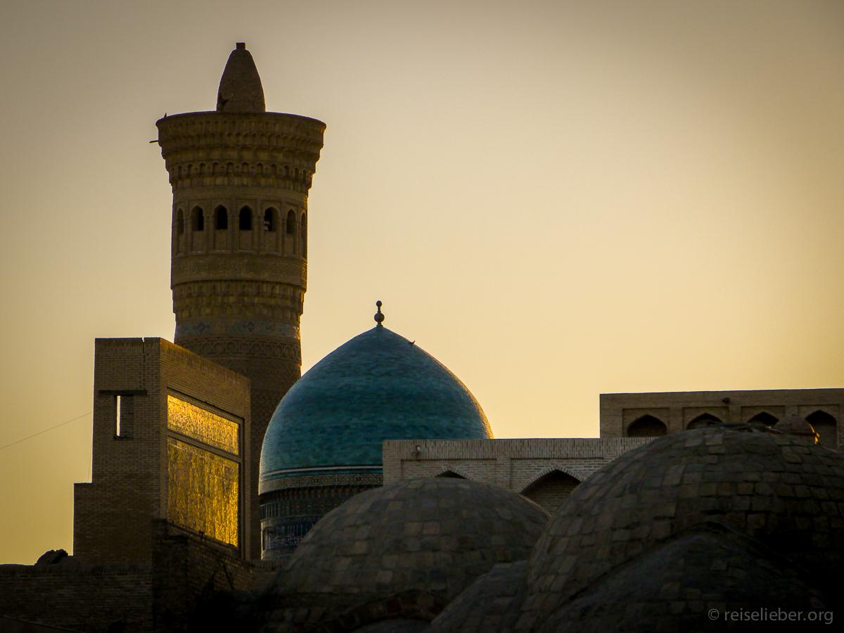 Sonnenuntergang in Bukhara