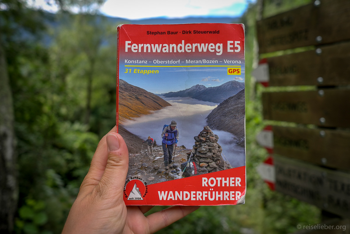 Rother Wanderführer, Wanderführer Fernwanderweg E5