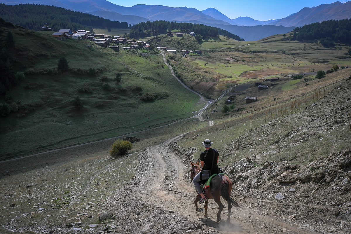 Reiten in Tuschetien