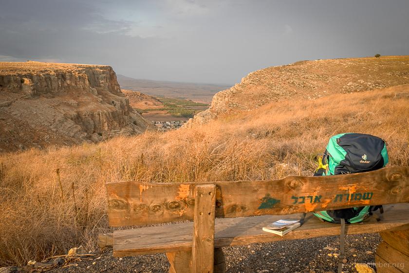 Wandern auf dem Jesus-Trail: Mount Arbel
