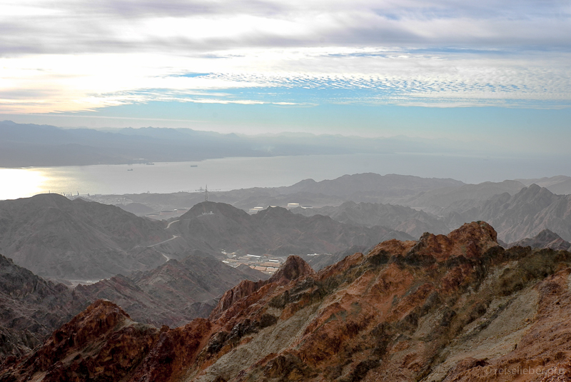 Top-Wanderung Israel: Ausblick von Mount Shlomo