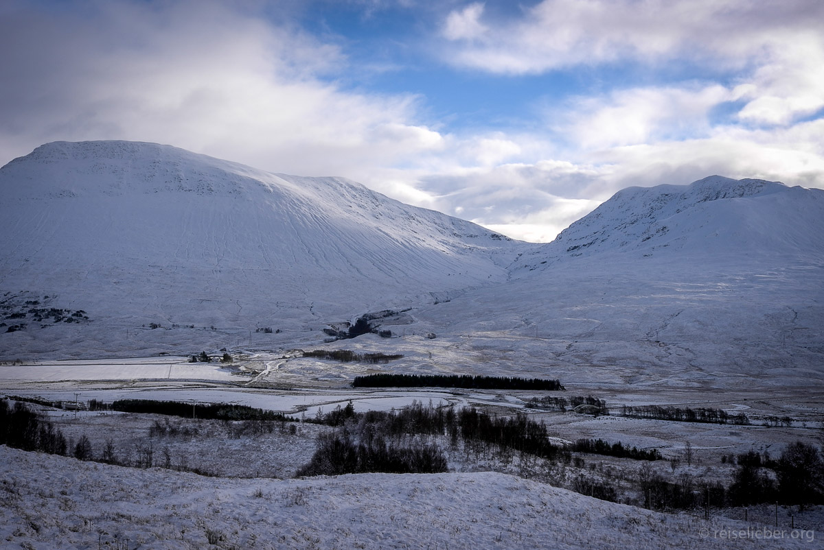 Winter im Glen Coe