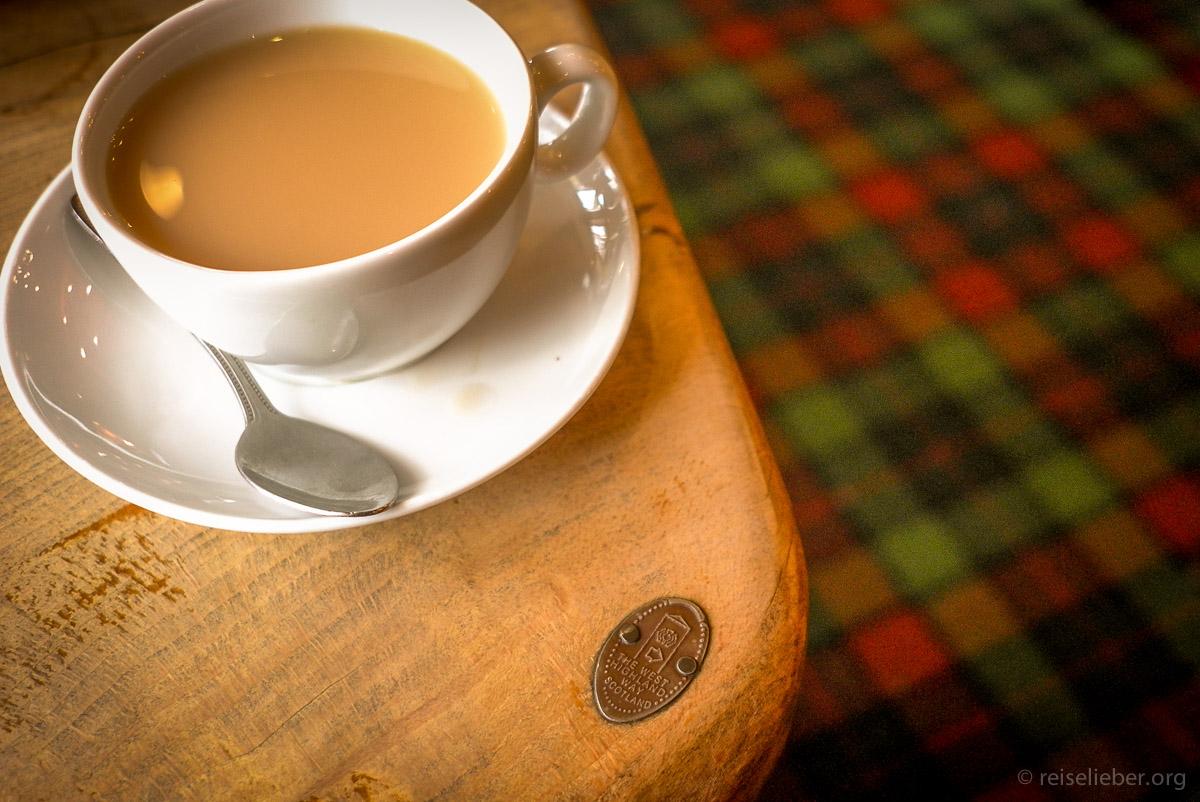 Tee am West Highland Way
