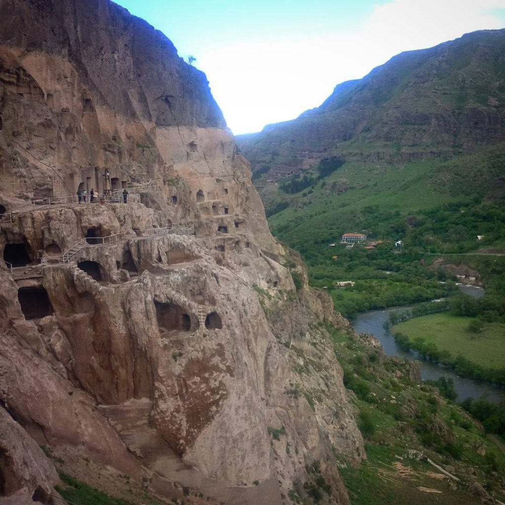 Visiting the amazing cave monasteries of vardzia in Georgia Continuehellip