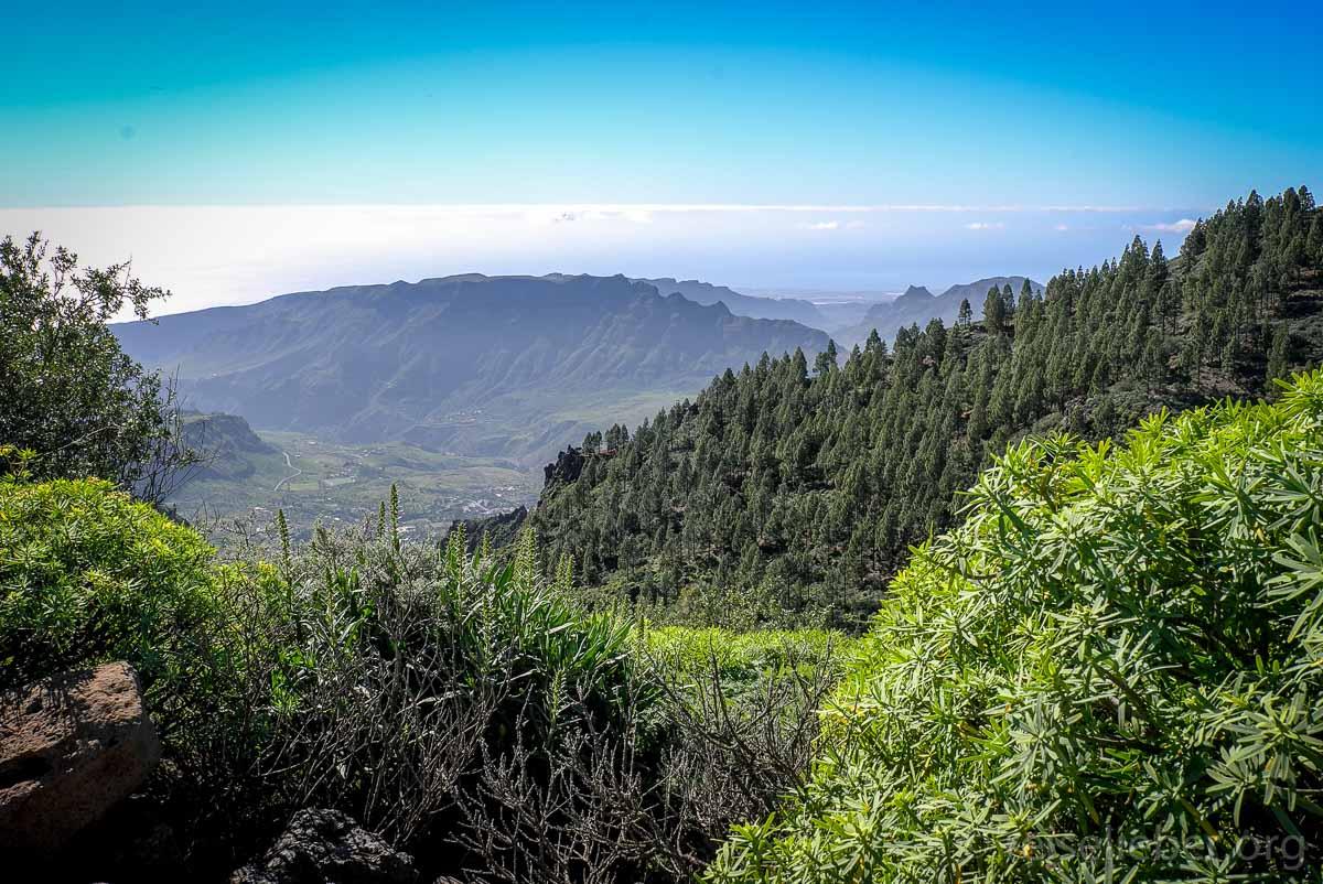 Blick auf die Südküste von Gran Canaria