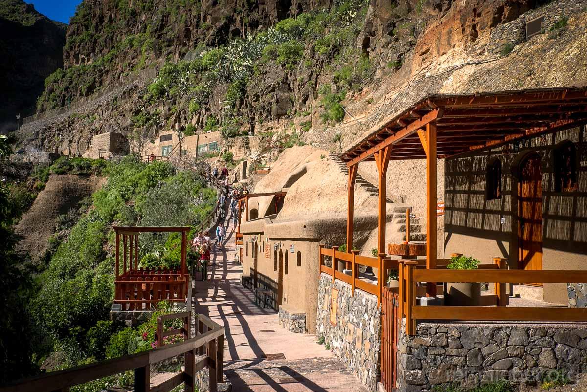 Höhlen im Guayadeque Tal