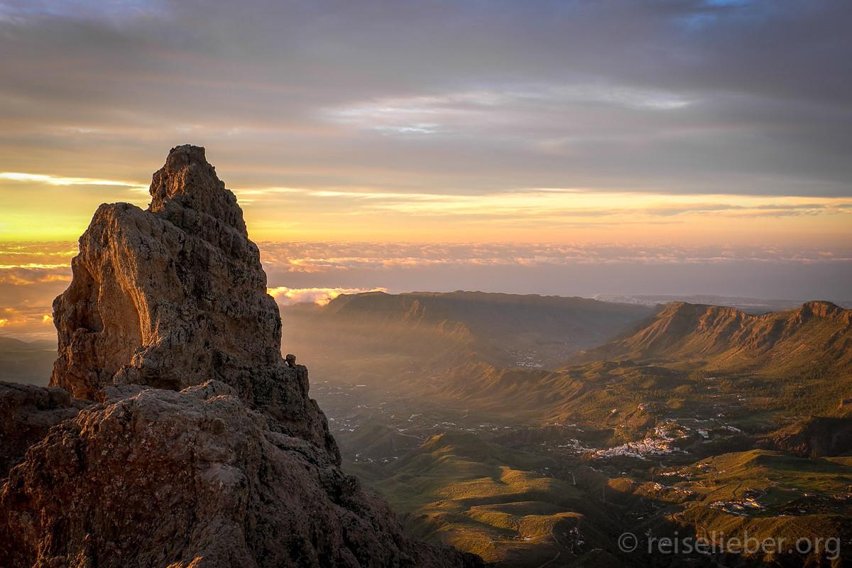 Am Pico de las Nieves