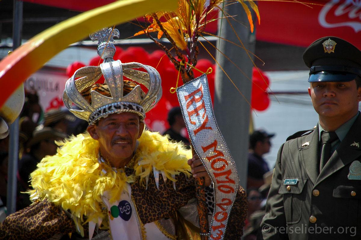 Karnevalskönig Rey Momo