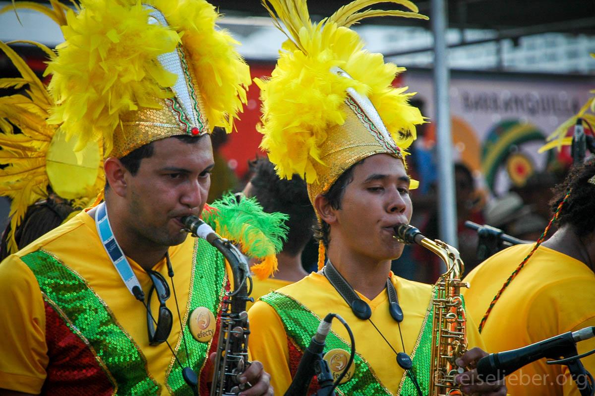 Musiker, Kostüm, Carnaval de Barranquilla