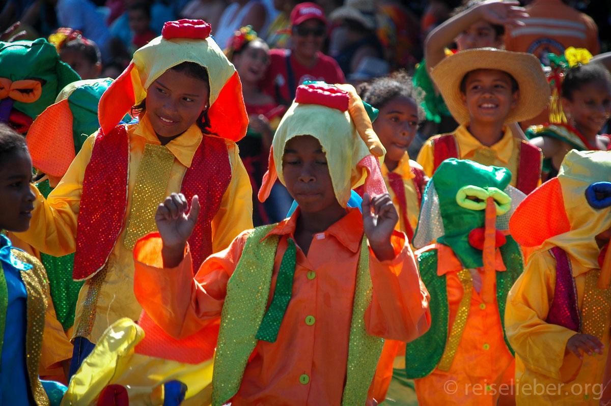 Parade beim Carnaval de Barranquilla