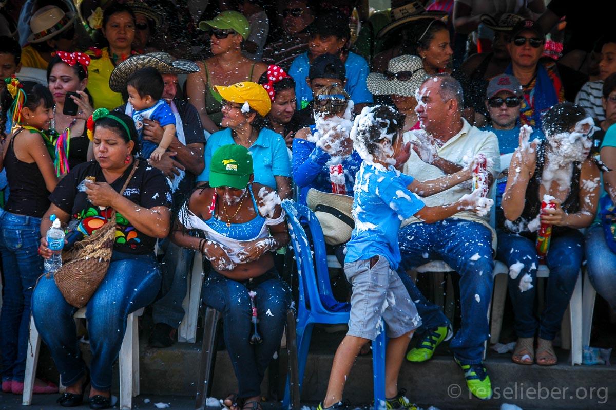 Kostüm, Zuschauer, Carnaval de Barranquilla