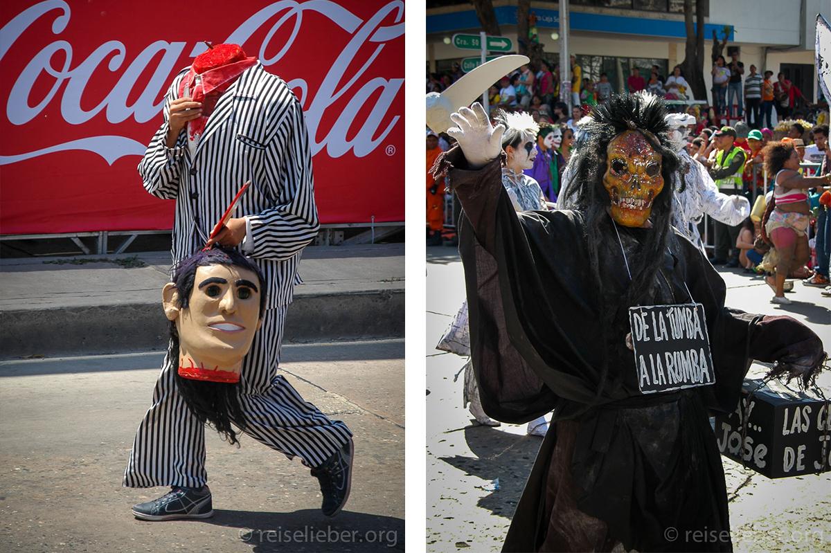 Geköpfter, Kostüm, Carnaval de Barranquilla