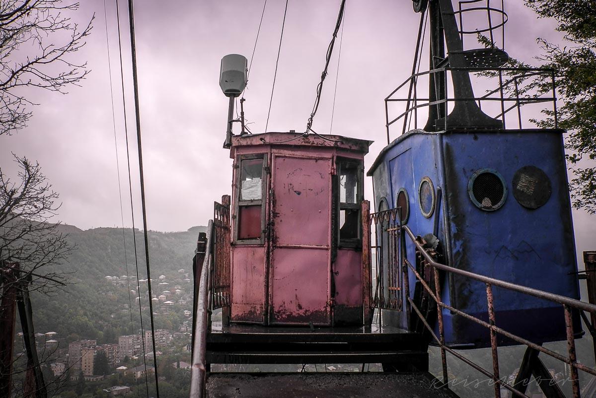 Bergstation der Friedensbahn