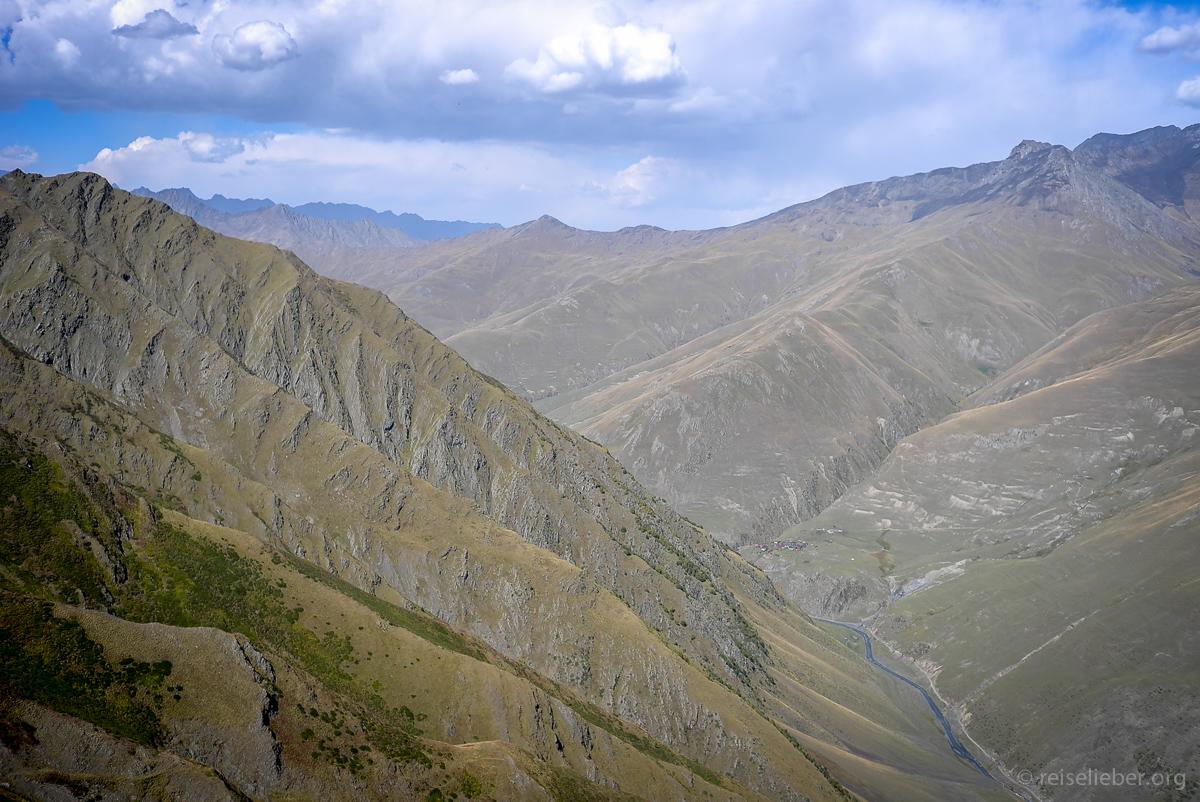 Pass in Tuschetien