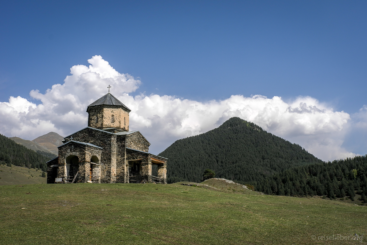 Kirche in Tuschetien