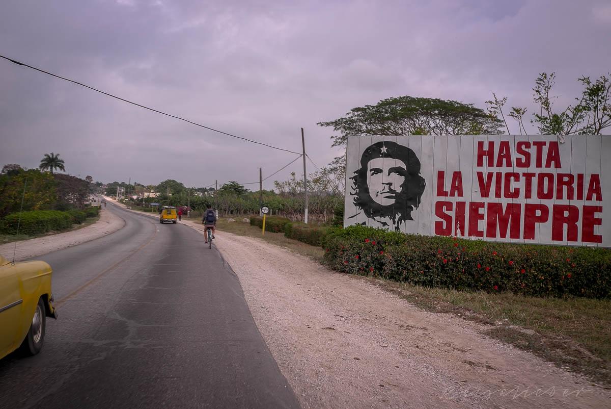 Radfahrer auf Kuba
