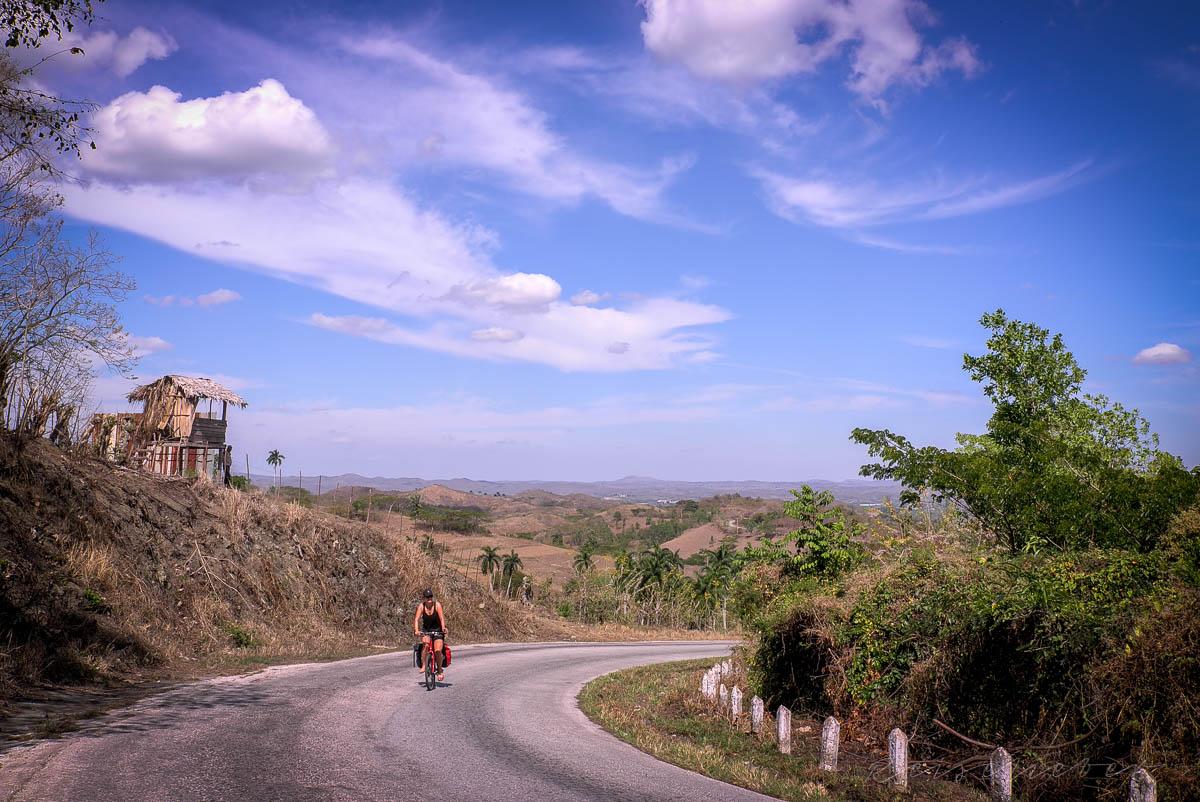 Von Santa Clara nach Topes de Collantes geht es viel bergauf