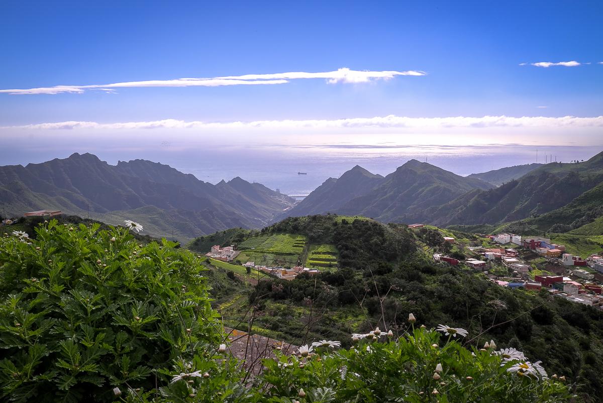 Blick auf San Cristobal im Nordosten