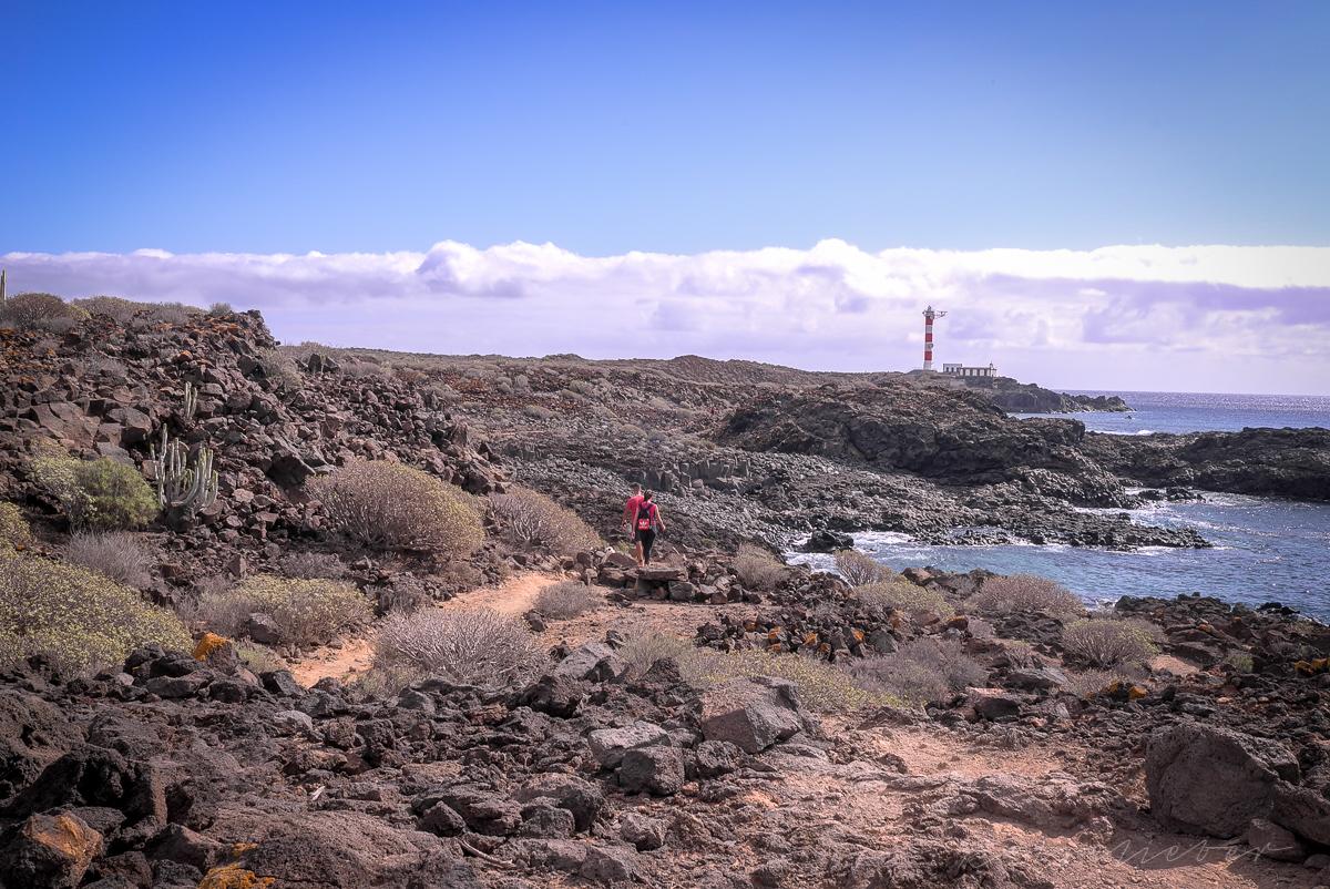 Entlang der Küste bei Las Galletas