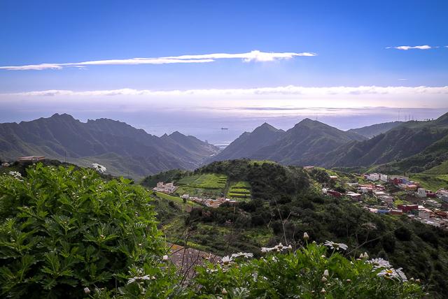 Landschaft im Norden von Teneriffa