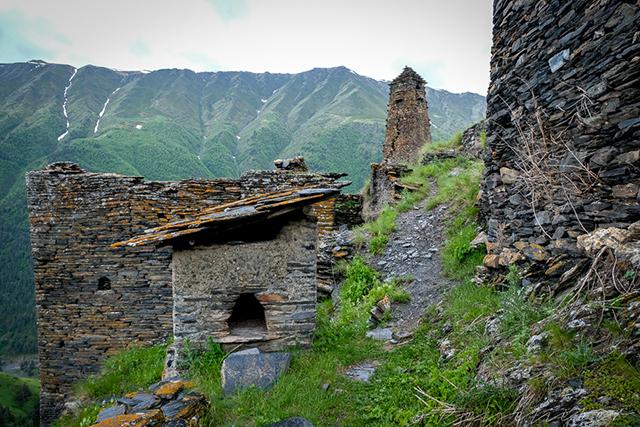 Festungstürme in Tuschetien