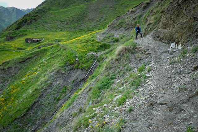 Wanderweg in Tuschetien