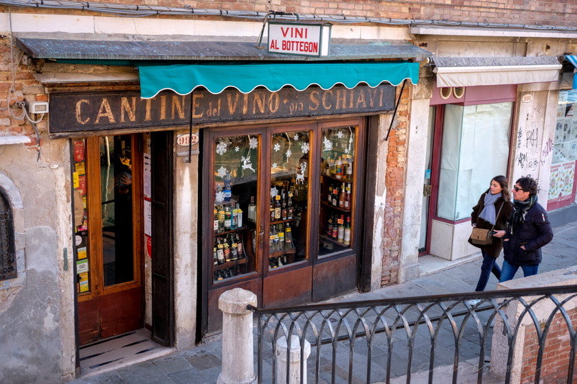 Bacari in Venedig