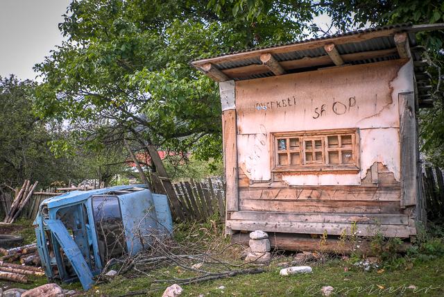 Geschlossener Minishop in Mazeri