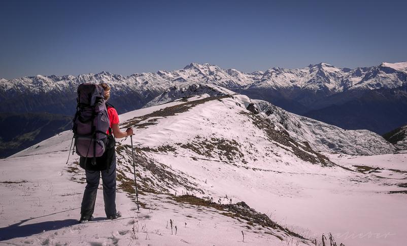 Wander im Schnee