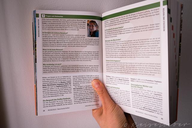 Autorentipps im Georgien Reiseführer vom Stefan Loose Verlag