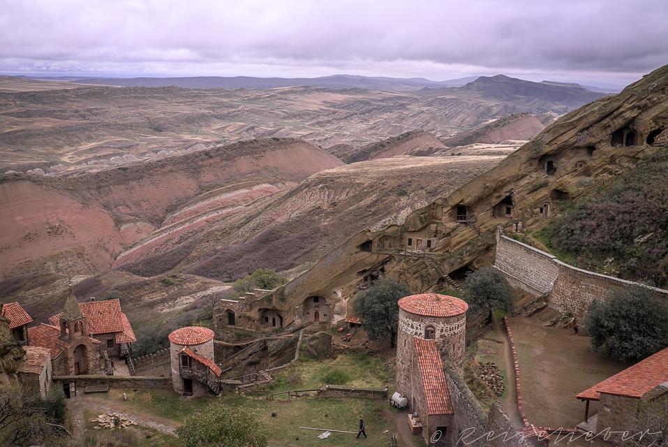 Höhlenkloster von Davit Gareja in Georgien