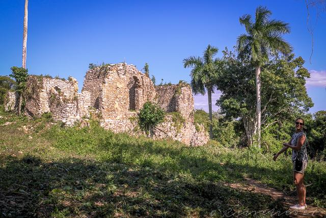 Ruinen einer alten Kaffeefarm in Kuba