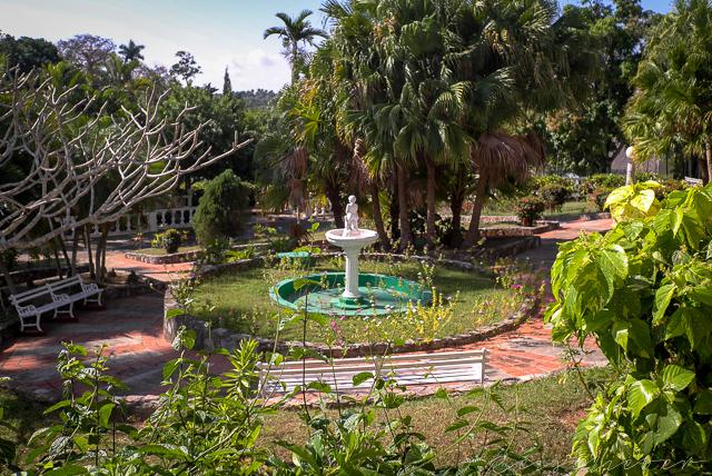 Garten von Hotel in Kuba