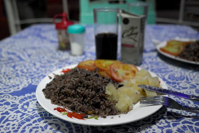 Abendessen auf Kuba