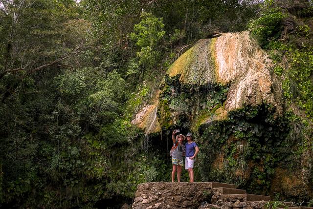 Wasserfall Arco Iris auf Kuba