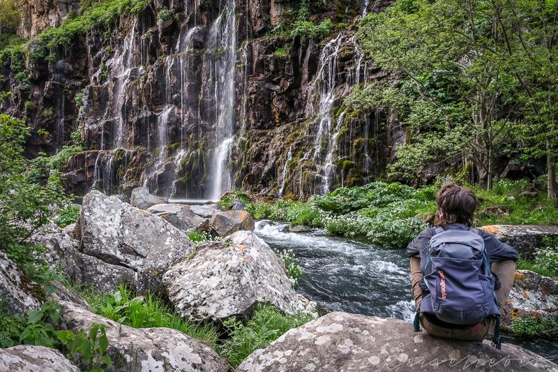 Dashbashi-Wasserfall