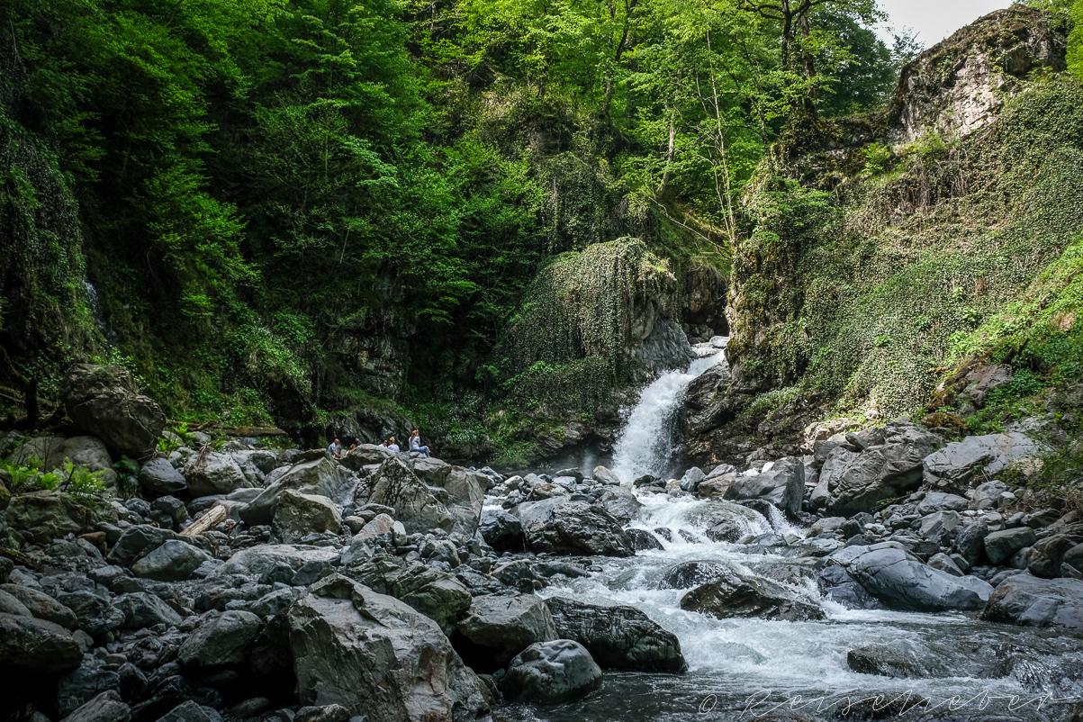 Black Grouse Wasserfall