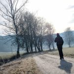 Wandern im Urdonautal, Wanderer am Moosgraben